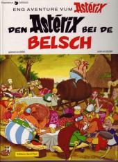 Astérix (en langues étrangères) -24Lux- Den Astérix bei de belsch