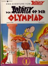 Astérix (en langues étrangères) -12Lux- Den Astérix op der olympiad