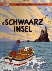 Tintin (en langues étrangères) -7Luxembourg- D'schwaarz insel