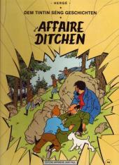 Tintin (en langues étrangères) -18Luxembourg- D'affaire ditchen