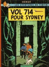 Tintin (Historique) -22B40- Vol 714 pour Sydney