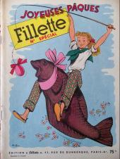 Fillette (Après-guerre) -HS54/03- Joyeuses pâques - 1954