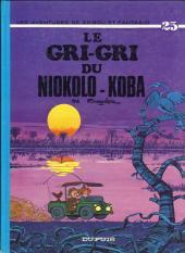 Spirou et Fantasio -25b80- Le gri-gri du Niokolo-Koba