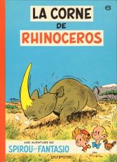 Spirou et Fantasio -6d80- La corne de rhinocéros