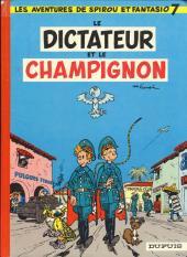 Spirou et Fantasio -7e77- Le dictateur et le champignon