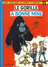 Spirou et Fantasio -11c77a- Le gorille a bonne mine
