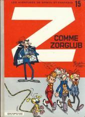 Spirou et Fantasio -15d77- Z comme Zorglub