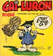 Gai-Luron (Poche) -30- C'est à vous ça ?