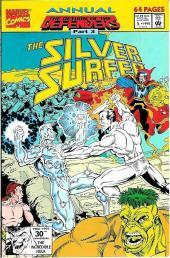 Silver Surfer Vol.3 (Marvel comics - 1987) -AN05- The return of the Defenders part 3