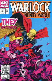 Warlock and the Infinity Watch (1992) -4- They attack