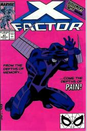 X-Factor (Marvel comics - 1986) -47- From the depths of memory come the depths of pain !