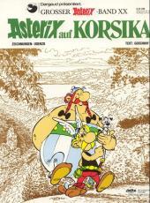 Astérix (en allemand) -20- Astérix auf Korsika