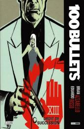 100 Bullets (albums brochés) -13- Droit de succession
