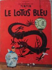 Tintin (Historique) -5B35- le lotus bleu