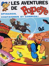 Popeye (MCL) -8- Épinards, châtaignes et corrida !