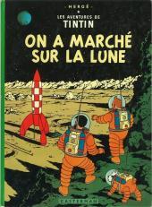 Tintin (Historique) -17B38- On a marché sur la Lune