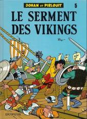 Johan et Pirlouit -5h- Le serment des vikings