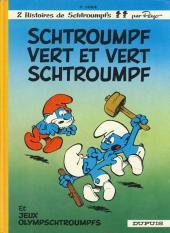 Les schtroumpfs -9b1983/6- Schtroumpf vert et vert schtroumpf