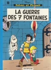Johan et Pirlouit -10c84- La guerre des 7 fontaines
