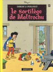 Johan et Pirlouit -13b82- Le sortilège de Maltrochu
