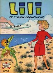 Lili (L'espiègle Lili puis Lili - S.P.E) -51- Lili et l'avion coqueluche