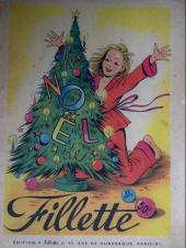Fillette (Après-guerre) -HS50/12- Le Noël de fillette