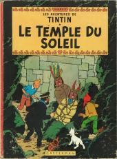 Tintin (Historique) -14B36- Le temple du soleil