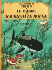 Tintin (Historique) -12C4- Le trésor de Rackham Le Rouge