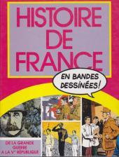 Histoire de France en bandes dessinées (Intégrale) -8FL- De la Grande Guerre à la Ve République