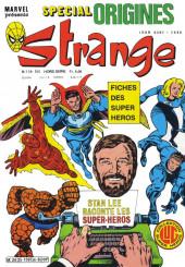 Strange (Spécial Origines) -139bis- Strange 139 bis