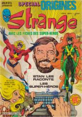 Strange (Spécial Origines) -154bis- Strange 154 bis