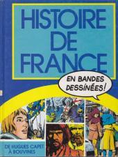 Histoire de France en bandes dessinées (Intégrale) -2FL- De Hugues Capet à Bouvines