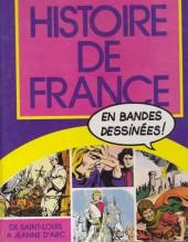 Histoire de France en bandes dessinées (Intégrale) -3FL- De Saint-Louis à Jeanne d'Arc