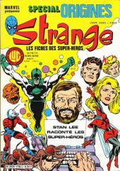 Strange (Spécial Origines) -178bis- Strange 178 bis