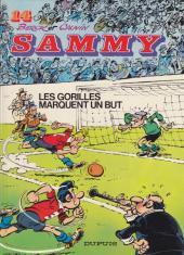 Sammy -14a1990- Les gorilles marquent un but