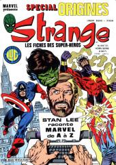 Strange (Spécial Origines) -184bis- Strange 184 bis