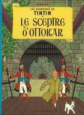 Tintin (Historique) -8C4- Le sceptre d'Ottokar