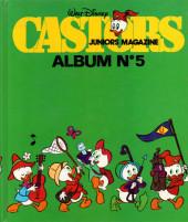 (Recueil) Castors juniors magazine -5- Album N°5
