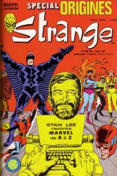 Strange (Spécial Origines) -208bis- Strange 208 bis