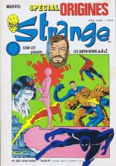 Strange (Spécial Origines) -232bis- Strange 232 bis