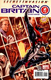 Captain Britain and MI13 (2008) -1-  The Guns of Avalon (Part One)