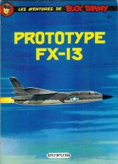 Buck Danny -24c78- Prototype FX-13