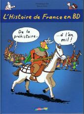 L'histoire de France en BD (Joly/Heitz) -1- De la préhistoire... à l'an mil !