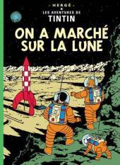 Tintin (Historique) -17C3ter- On a marché sur la lune