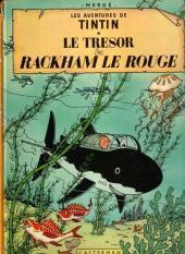 Tintin (Historique) -12B41- Le trésor de Rackham Le Rouge