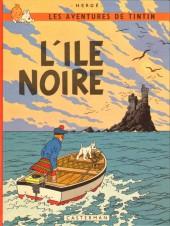 Tintin (Historique) -7C4- L'île noire