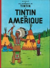 Tintin (Historique) -3C3bis- Tintin en Amérique