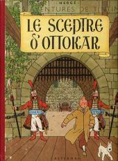 Tintin (Historique) -8B07Bis- Le sceptre d'Ottokar