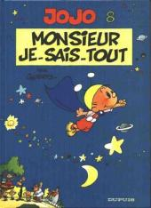 Jojo (Geerts) -8a01- Monsieur Je-sais-tout