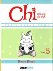 Chi - Une vie de chat (format manga) -5- Tome 5